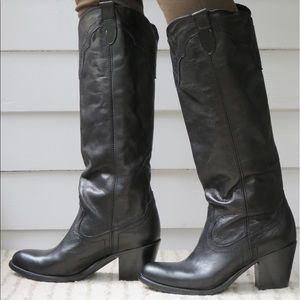"""Frye """"Tabitha"""" Pull On Tall Boots"""